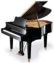 isolated image of a baby grand piano